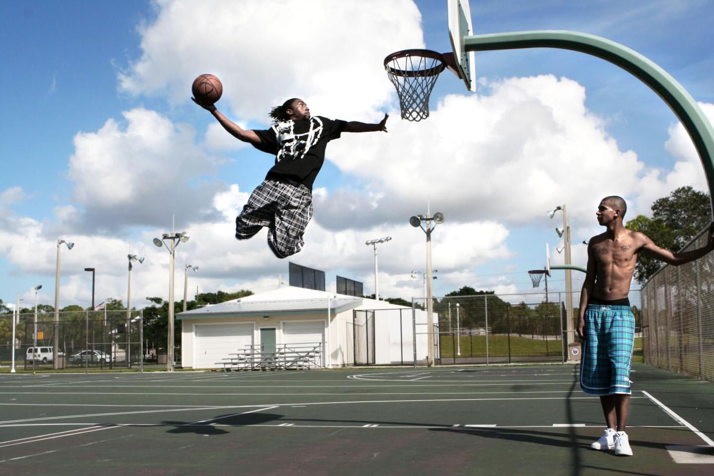 баскетбол улица солнце  № 2896541  скачать