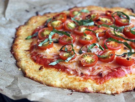 Изображение рецепта Пицца на тесте из цветной капусты